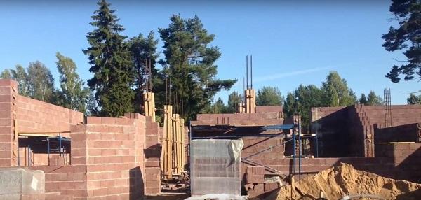 Строительство из керамзитобетон на заказ бетона в