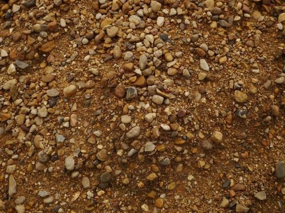 гравий с глиной для бетона
