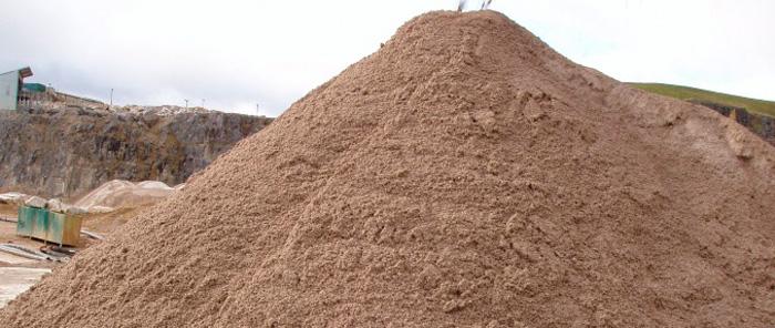 Карьерный песок не очищается после добычи