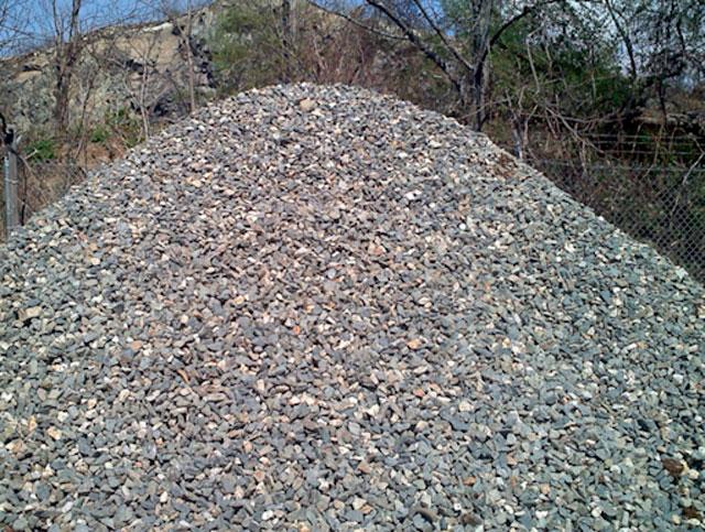 Переработка строительного мусора в щебень