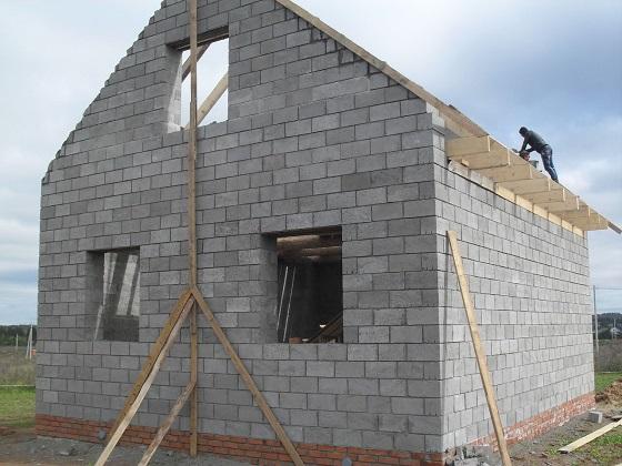Дом из керамзитобетона дешево миксер строительный для бетона купить авито