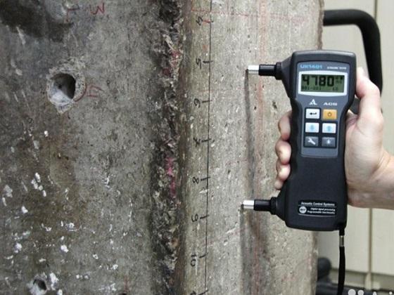 Бетон исследования цементным раствором марки м100